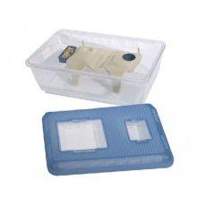 Kuferek dla gryzoni RODEO 16, plastikowe 48 x 30 x 18 cm