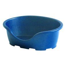 Legowisko dla psów PERLA 3, niebieskie - 66 x 46 x 25 cm