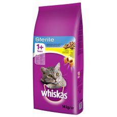 WHISKAS Sterile dla kotów 14 kg