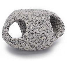 Dekoracja - Kamienna kryjówka, granit, 5 cm