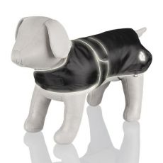 Płaszcz dla psa z elementami odblaskowymi - M / 50-70cm