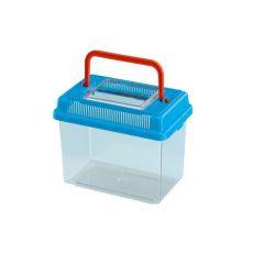 Plastikowy pojemnik Ferplast GEO MEDIUM - niebieski, 2,5L