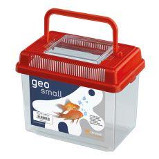 Plastikowy pojemnik Ferplast GEO SMALL - czerwony, 1L