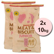 Magnusson Meat & Biscuit JUNIOR 2x10kg