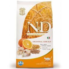 Farmina N&D cat LG ADULT Dorsz i pomarańcza 0,3 kg