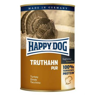 Happy Dog Pur - Truthahn 400g / indyk