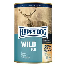 Happy Dog Pur - Wild 400g / dziczyzna