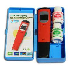 pH / °C - miernik z roztworami do kalibracji