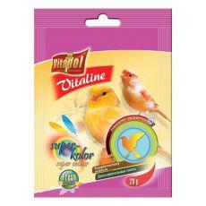 VITAPOL - Vitaline Super kolor mieszanka ziaren dla ptaków, 20 g