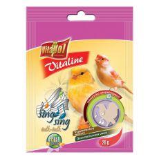 VITAPOL - mieszanka Vitaline Sing Sing dla kanarków, 20 g