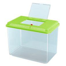 Przenośny plastikowy pojemnik Ferplast GEO MAXI - zielony, 21L
