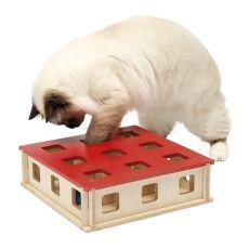 Zabawka dla kota MAGIC BOX, 27 x 27 x 8,5 cm