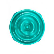 Miska Slo-Bowl Mini Drop - turkusowo-zielona