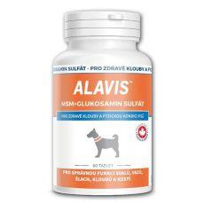 ALAVIS MSM siarczan glukozaminy - dla zdrowych stawów i kondycji fizycznej, 60tab