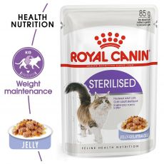 Royal Canin STERILISED in Jelly 85g - w galarecie