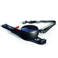 Lishinu handsfree smycz do 30kg, 3m - czarna