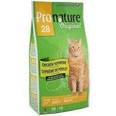 Pronature 28 Cat Adult Chicken Supreme 5,44kg