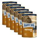 Happy Dog Pur - Truthahn/indyk, 6 x 400g, 5+1 GRATIS
