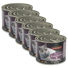 Konserwa dla kotów Leonardo - z królika  6 x 200g