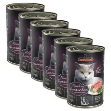Konserwa dla kotów Leonardo - z królika 6 x 400g