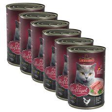 Konserwa dla kotów Leonardo - z drobiu 6 x 400g
