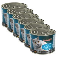 Konserwa dla kotów Leonardo - z ryby  6 x 200g