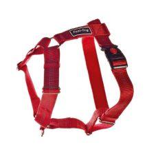 Uprząż dla psa, nylonowa - czerwona, 62 - 100 cm