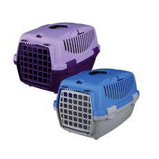 Transporter dla psów Capri I - 32 x 31 x 48 cm - popielato-niebieski