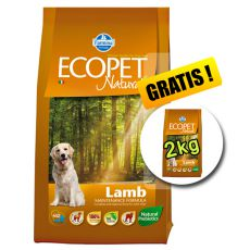 Farmina MO P ECOPET N dog LAMB MEDIUM 12 kg + 2 kg GRATIS