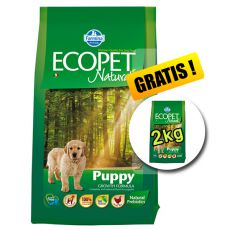 Farmina MO P ECOPET N dog PUPPY MEDIUM 12 kg + 2kg GRATIS