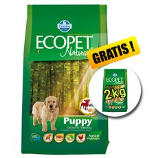 Farmina MO P ECOPET N dog PUPPY mini 12 kg + 2kg GRATIS
