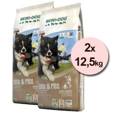 BEWI DOG LAMB & RICE 2 x 12,5kg