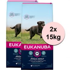 EUKANUBA ADULT Large Breed Chicken - 2 x 15 kg