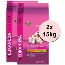 EUKANUBA ADULT MEDIUM Light / Weight Control - 2 x 15 kg