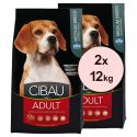 Farmina MO SP CIBAU dog ADULT MEDIUM 2 x 12 kg