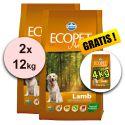 Farmina MO P ECOPET N dog LAMB MAXI 2 x 12 kg + 4 kg GRATIS