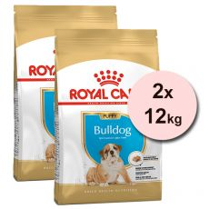 ROYAL CANIN ANGIELSKI BULDOG JUNIOR  - 2 x 12 kg