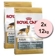 ROYAL CANIN OWCZAREK NIEMIECKI 2 x 12 kg