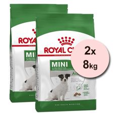 ROYAL CANIN MINI ADULT +8, 2 x 8 kg
