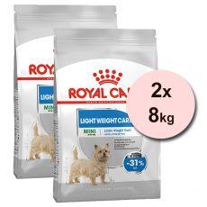 ROYAL CANIN MINI Light Weight Care 2 x 8kg
