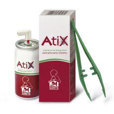 ATIX zestaw do usuwania kleszczy - 9ml spray + pęseta