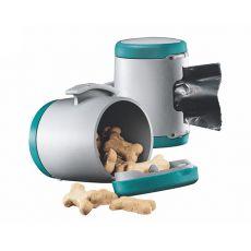 Flexi Vario Multi Box pojemnik, turkusowy + woreczki na odpady