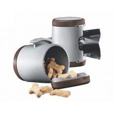 Flexi Vario Multi Box pojemnik, brązowy + woreczki na odpady