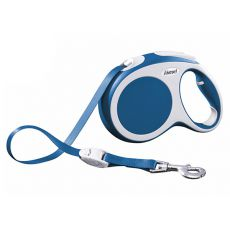 Flexi Vario L smycz do 60kg, 5m taśma – niebieska