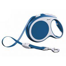 Flexi Vario L smycz do 50kg, 8m taśma – niebieska