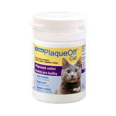 PlaqueOff Cat - preparat do zapobiegania i usuwania kamienia nazębnego, 40g