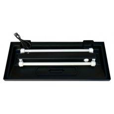 Oświetlenie do prostego akwarium  80x40cm, czarnego