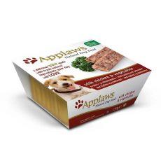 Applaws Paté Dog - pasztet dla psów z mięsem z kurczaka i warzywami, 150g