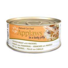 Applaws Cat Jelly – konserwa dla kotów z kurczakiem i makrelą, 70g