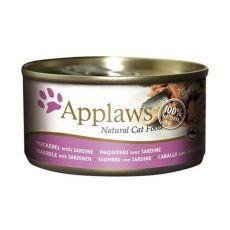 Applaws Cat – konserwa dla kotów z makrelą sardynią, 70g